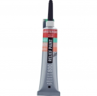 Talens Amsterdam Deco Relief Paint : Tube 20 ml : Silver : 800