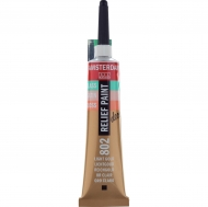 Talens Amsterdam Deco Relief Paint : Tube 20 ml : Light Gold : 802