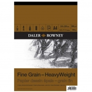 Daler Rowney Fine Grain Heavy Weight Drawing Pad : 200 gsm : 30 sheets : А4