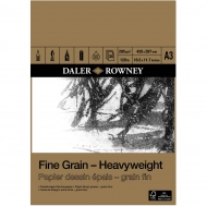 Daler Rowney Fine Grain Heavy Weight Drawing Pad : 200 gsm : 30 sheets : А3