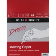 Daler Rowney Medium Grain Drawing Pad : 160 gsm : 50 sheets : А4