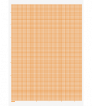 Graph Paper Pad : 80 gsm : 20 sheets : A4