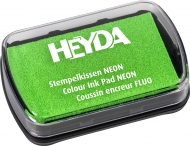 Slow Drying Оil Based Ink Pad Heyda : Neon Green