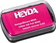 Slow Drying Оil Based Ink Pad Heyda : Neon Pink