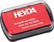Slow Drying Оil Based Ink Pad Heyda : Neon Red