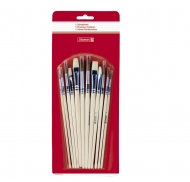 Brunnen brushes set School 12 pcs