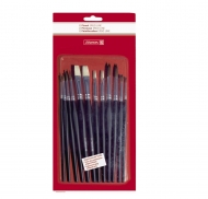 Brunnen Set with 12 School Brushes Ergoline