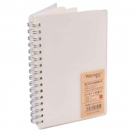 Wirebound Hardcover Notebook : 80 gsm : 80 Sheets : A6