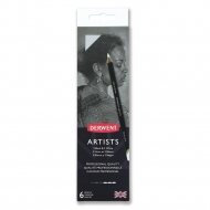 Derwent Artist Colouring Pencils : Set of 6 : Black and White