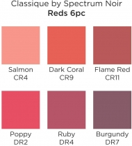 Spectrum Noir Classique Alcohol Marker : Set of 6 : Reds