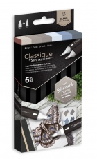 Spectrum Noir Classique Alcohol Marker : Set of 6 : Greys
