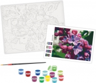 Rosa Paint by Numbers Acrylic Kit - Standart - Lilac