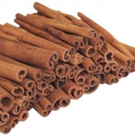 Cinnamon Bark Sticks : 10 cm Length