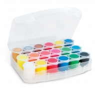 Ready-mix Poster Paint : 25 ml : Set of 18 Colours
