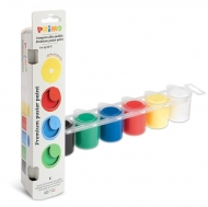Ready-mix Poster Paint : 25 ml : Set of 6 Colours : Basic