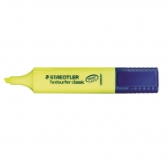 Staedtler Textsurfer Highlighter Marker Pen : Chisel Tip : 1 to 5 mm : Yellow