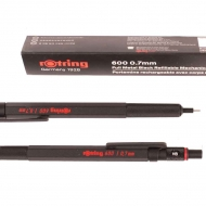 Rotring 600 Black : Mechanical Pencil : for Leads 0.7 mm