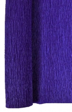 Royal Blue Crepe Paper Roll 50 x 250 cm Heyda