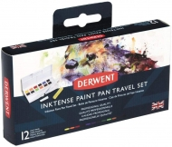 Derwent Inktense : Watercolor Paint Travel Set of 12