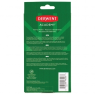 Derwent Academy : Twin Tip Markers : Fine & Brush Tip : Set of 8