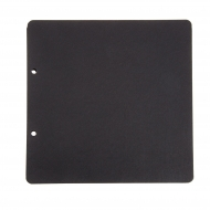 Refill Black Pages for Scrapbook Album : 300 gsm : 24 Sheets : 21 x 21 cm