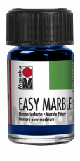 Marabu : Easy Marble : Marbling Paint 15 ml : 055 Dark Ultramarine