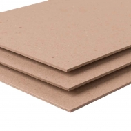 Recycled Kraft Board : 3.0 mm Thick : 1500 gsm : 100 x 70 cm