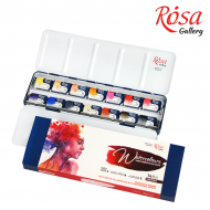 Fine Art Watercolour Paint : Rosa Gallery : Set of 14 : Portrait Colours