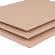 Recycled Kraft Board : 2.0 mm Thick : 1000 gsm : 50 x 70 cm