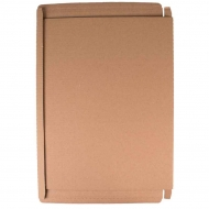 Postal Cardboard Box : 42 x 32 x 3 : Suitable for A3 Size
