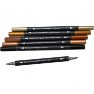 Spectrum Noir : Metallic Markers : Set of 6 : Precious Metals
