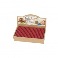 Manuscript sealing wax with wick red, 1 pc