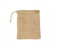 KPC bag Jute 20*15 cm natural
