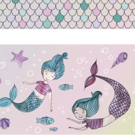 Set of 4 Plastic Tapes : Heyda : Mermaid