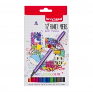 Bruynzeel : Fineliner : Set of 12