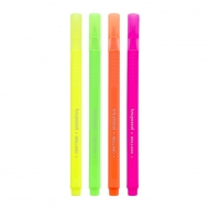 Bruynzeel : Slim Highlighters : Set of 4 Neon Colours