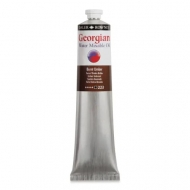 Daler Rowney Georgian : Water Mixable Oil Colour : 223 : Burnt Umber