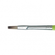 Flat Brush Da Vinci 374 Synthetics Fit for School and Hobby : No.2