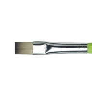 Flat Brush Da Vinci 374 Synthetics Fit for School and Hobby : No. 10