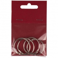 Split Rings for Scrapbook Albums 35 mm : Pack of 4