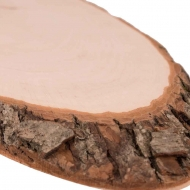 Knorr Prandell : Oval Natural Wood Log Slice : from 13 to 15 cm