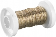 Knorr Prandell : Gold Plated Copper Wire : Ø 0.25 mm : 35 m