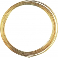 Knorr Prandell : Gold Plated Copper Wire : Ø 0.6 mm : 10 m