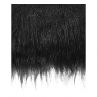 Craft Faux Fur Fabric for Toy Making : Black