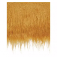 Craft Faux Fur Fabric for Toy Making : Brown