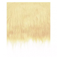 Craft Faux Fur Fabric for Toy Making : Blonde