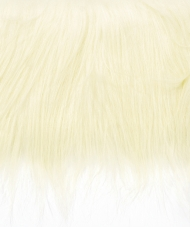 Craft Faux Fur Fabric for Toy Making : Light Blonde