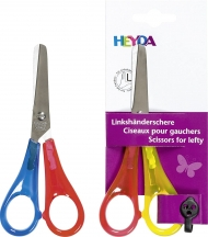 Heyda : Left Handed Kids Scissors : Rounded Tip
