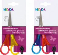 Heyda : Left Handed Kids Scissors : Pointed Tip