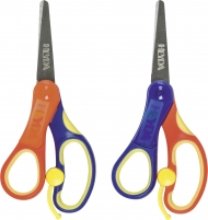 Heyda : Easy Cut : Left Handed Kids Scissors : Rounded Tip